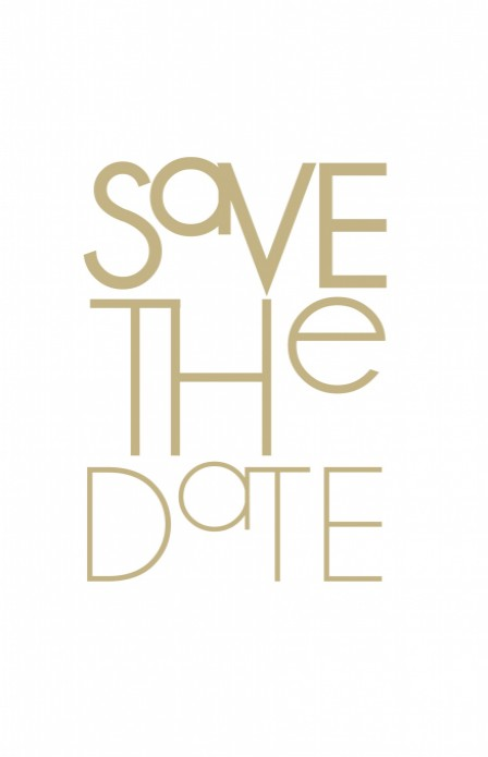 Save the date / 11x17,5 enkel voor